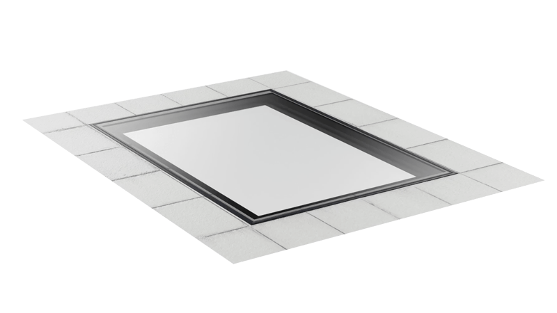 Horizon Walk-On Glass Roof Panels