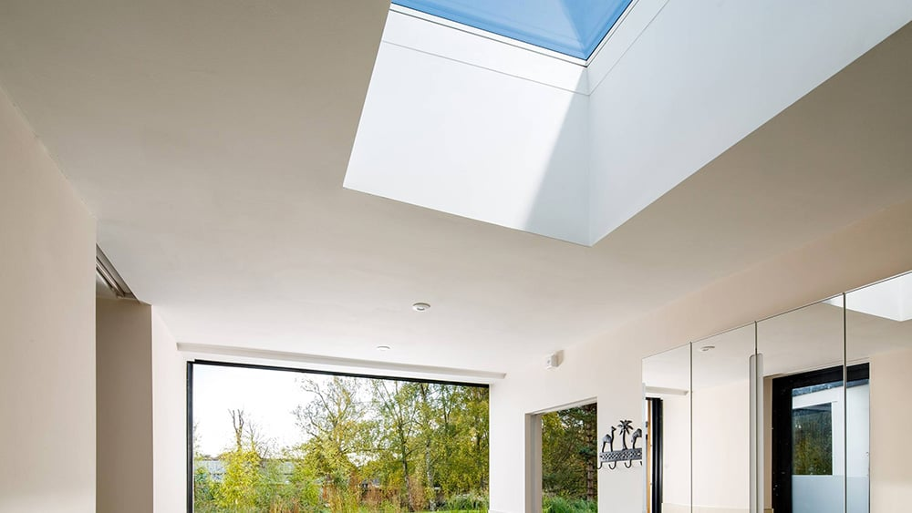 Electric rooflight in Bury St Edmunds
